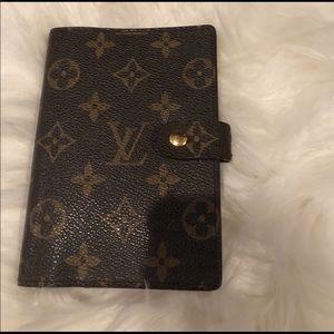 Louis Vuitton Pm agenda (authentic)
